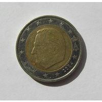 2 евро, Бельгия 2004г.