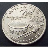США. 25 центов 2009. American Samoa /P/