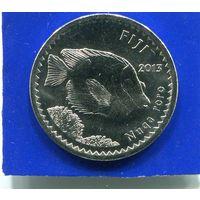 Фиджи 5 центов 2013 UNC