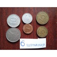 6 монет германия