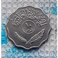 Ирак 10 филсоф. UNC. Саддам Хусейн. Персия. Пальма. Инвестируй выгодно в монеты планеты!