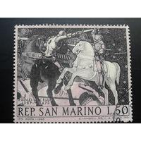 Сан-Марино 1968 живопись