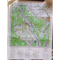 ГОМЕЛЬ. Карта 40х53 см.