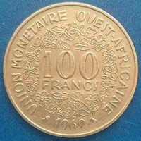 Западная Африка 100 франков 1969 г. Продажа коллекции. #1025