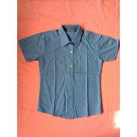 Блуза школьная девичья с коротким рукавом