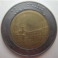 Италия 500 лир 1982 г. (d)