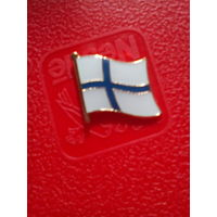 "Значок ""Флаг Финляндии""."