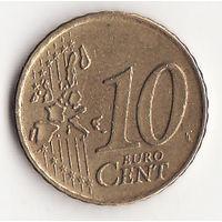 10 евроцентов 2000 год
