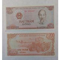 Вьетнам 200 донг 1987 года UNC