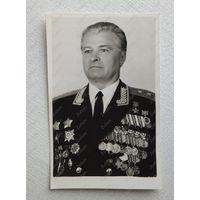 Герой СССР освободитель Освенцима генерал Петренко автограф