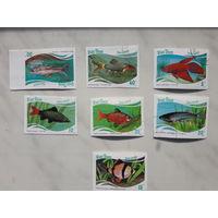Марки Вьетнам Рыбы набор