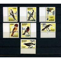 Никарагуа 1989г. птицы. 7м