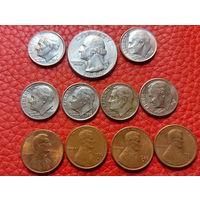США  ++ Набор Монет ++ .. РАСПРОДАЖА КОЛЛЕКЦИИ !!!