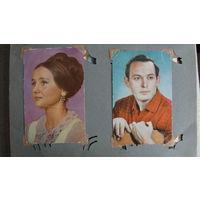 Альбом с фотографиями актёров советского кино, 138 штук.