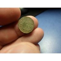 Шотландский торнер (двойной пенни) 1632-1633 г.г. первая медная монета на РБ