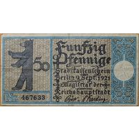 Нотгельд 50pf 1921г. Берлин #18