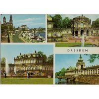 Открытка ГДР - Дрезден / Dresden