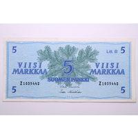 Финляндия, 5 марок 1963 год