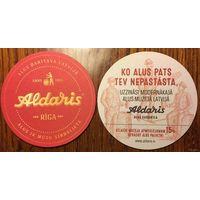 Подставка под пиво Aldaris /Латвия/ No 2