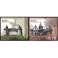 C.E.P.T. / Европа | Замки (дворцы) | Здания Латвия 2017 **