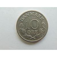 10 эре 1972 год  Дания.