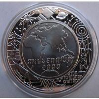 Австрия, 100 шиллингов, 2000, серебро, пруф