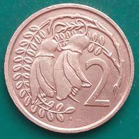 2 цента 1976 НОВАЯ ЗЕЛАНДИЯ