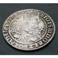 Орт 1622, Сигизмунд III Ваза, Быдгощ. Старая патина, хорошее коллекционное состояние