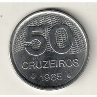 Бразилия 50 крузейро 1985