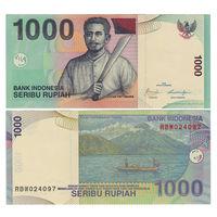 Индонезия. 1000 рупий 2000 (2009) г. [P.141.j] UNC