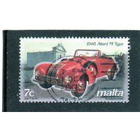 """Мальта. Mi:MT 1260. 1948 Allard """"M"""" Тип.  Серия: Винтажные автомобили. 2003."""