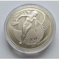 """Беларусь, 1 рубль  2005 год . """"Теннис""""."""