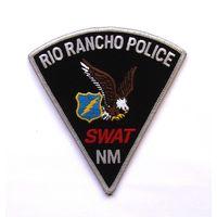 Шеврон полицейской команды S.W.A.T. г.Рио-Ранчо штата Нью-Мексико, США (распродажа коллекции)