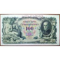 Чехословакия, 100 крон 1934 год, Р23