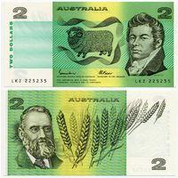 Австралия. 2 доллара (образца 1985 года, P43e, UNC)