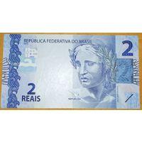 2 реала 2010 года - Бразилия - UNC