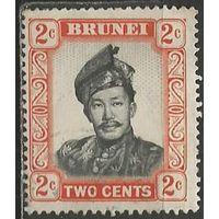 Бруней. Султан Омар Али Сайфуддин. 1952г. Mi#79.