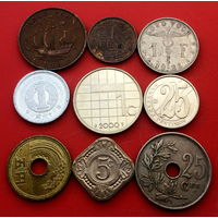 9 монет без повторов #9-106