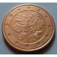 5 евроцентов, Германия 2002 D