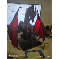 Dungeon Dragons ICONS  Colossal Red Dragon