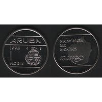 Аруба _km5 1 флорин 1995 год (ba) (b06)