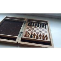 Туристические походные шахматы, деревянные. СССР.