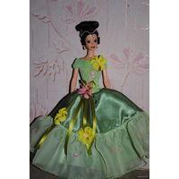 """Продам новое ПЛАТЬЕ для куклы Барби: """"ГРАФИНЯ"""" - машинный самошив, сидит весьма аккуратно. Сама кукла, как и её головной убор в стоимость не входят. Пересыл по почте платный!"""