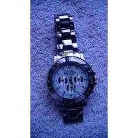 """Часы наручные кварцевые, мужские. бизнес стиль """"Rоzra """" браслет нержавеющая сталь. #2 распродажа"""