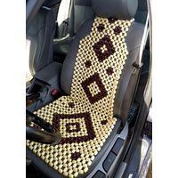 Накидка на сиденье авто массажная косточки, лакированная