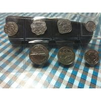 Наборчик монет Бангладеш (7 монет)