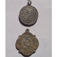 Медальоны. С рубля.