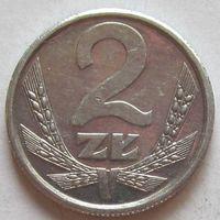 Польша, 2 злотых 1989 г