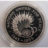 Великобритания, 2 фунта, 1995, серебро, пруф