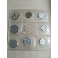 Сан-Марино официальный набор 1976 года (500 лир - серебро),